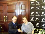 Jeffrey Deaver and MB