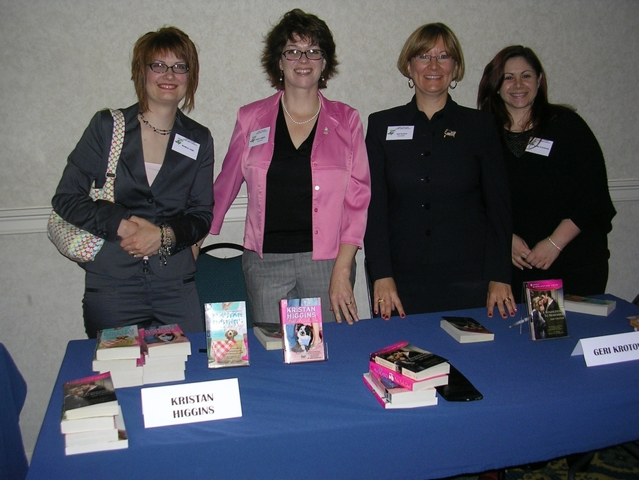 CTRWA Conference 2008, Madison, Kristan, Geri and me