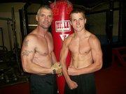 Tom & Drake at the gym