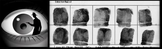 Logo and fingerprints