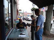 Bath Book Shop Signing, Labor Day Weekend 2012