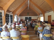 Pauline Rowson talking to U3A members about her crime novels