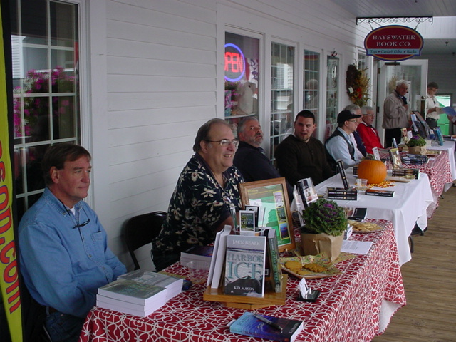 Author appearance at Bayswater Book Co.