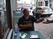 Bath Book Shop Signing, August 2012