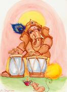 Die Satsang-Trommeln der Kirtan-Musik