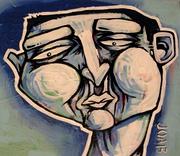 Blue Face #13