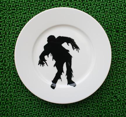 My new Zombie Dishware!
