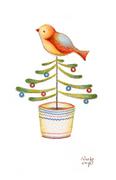 Happy Holiday Bird