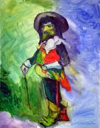 Cyrano, (Study of Matisse's, Cyrano of 1903)