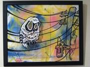 LIVE WIRE GHOST OWL. ***SENSEI 23**. 2009