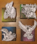THE 4 OWL-MENTS OF HIP HOP**SENSEI 23**.2009
