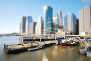 Tilt Shift South Street Seaport