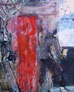 Coulisse, 2010, Huile sur toile, 41x33cm