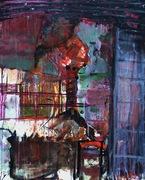 Jardin secret, 2010, oil on canvas, 81x65cm