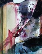 Lascaux in memoriam, 2009,oil on canvas, 146x114 cm - copie
