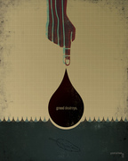 oil spill poster two