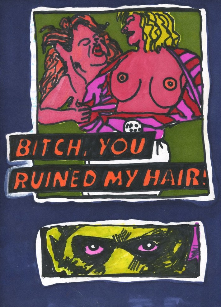 Bitch,You Ruined My Hair