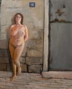 BAPQ1-ORA RUVEN-110x90 cm oil on canvas