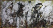 autoritratto - 4,18x2,84 Tempera - 2010