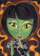 Jen's a Freak Show: Snake Woman