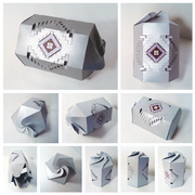 2011 creative kirigami package design by Olga Cuzuioc