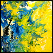 Blue vs. Yellow - Water and Earth