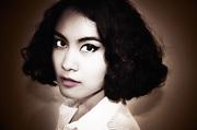 Portrait of a vintage lady # 06