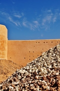 Marrakesh old city walls Morocco