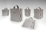 Shopping bag expandable Packaging 2014 design by Olga Cuzuioc Sinchevici
