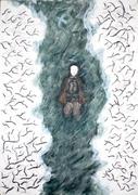 Drowned boy