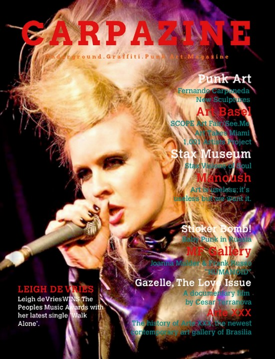 Carpazine Underground Art magazine!