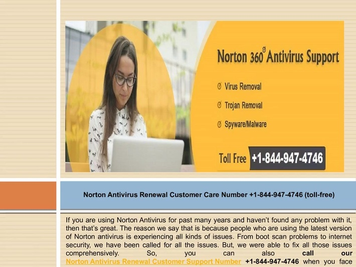 Get Rid Of Norton Renewal Issues Call on +1-844-947-4746 For Your Norton Products