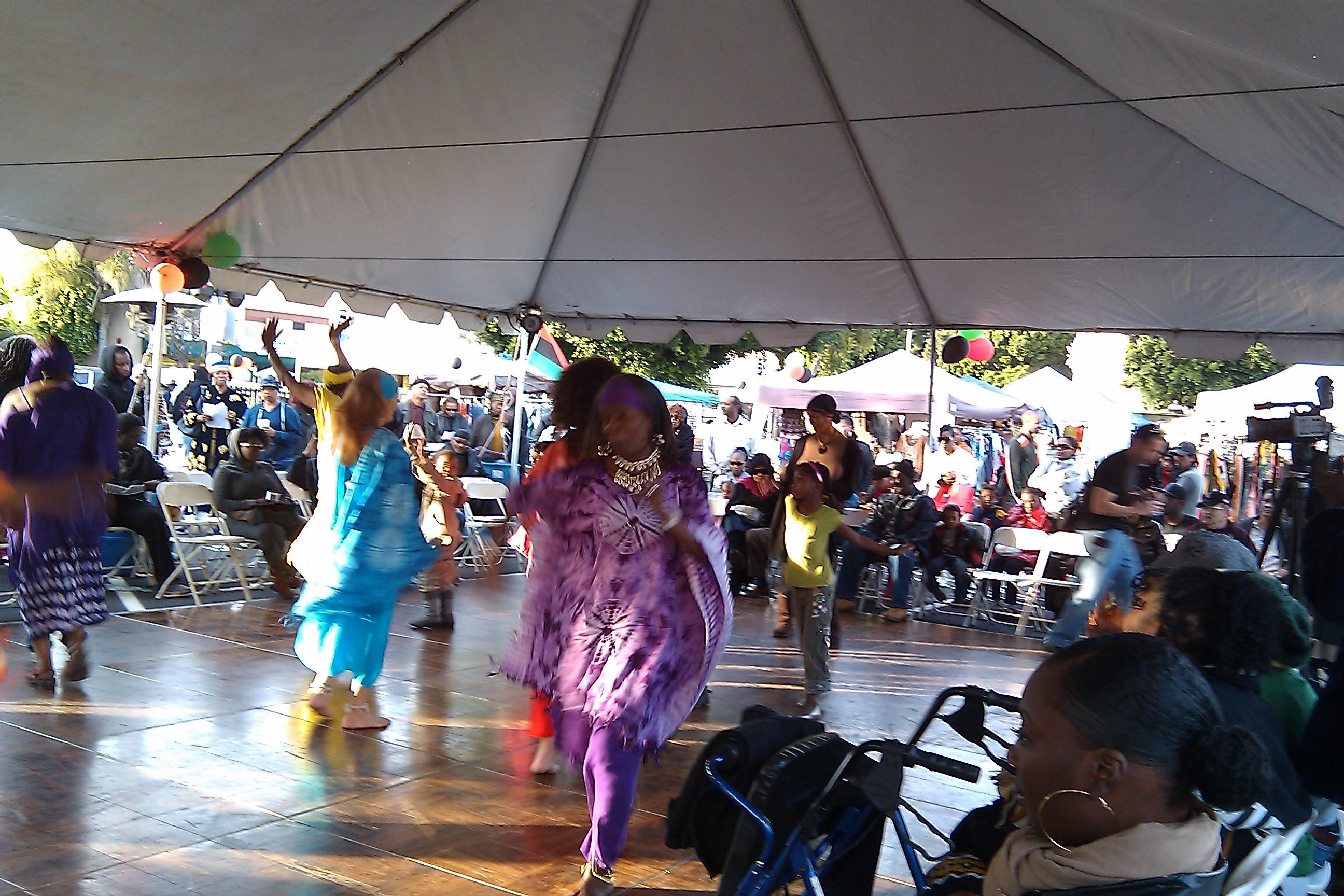 Afrologica at Kwanzaa Festival, Imani