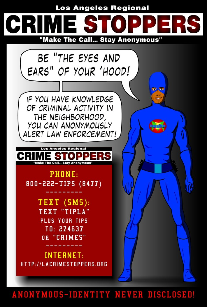 DangerMan & Crimestoppers