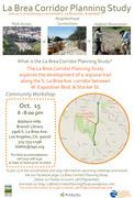 Community meeting_La Brea Corridor Planning Study