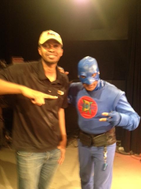 Smokey Robinson Nephew meets DangerMan