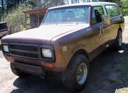 1980 Scout Traveler Diesel For Sale