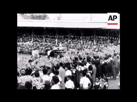 Princess Margaret's Visit to British Guiana - No Sound - 1958