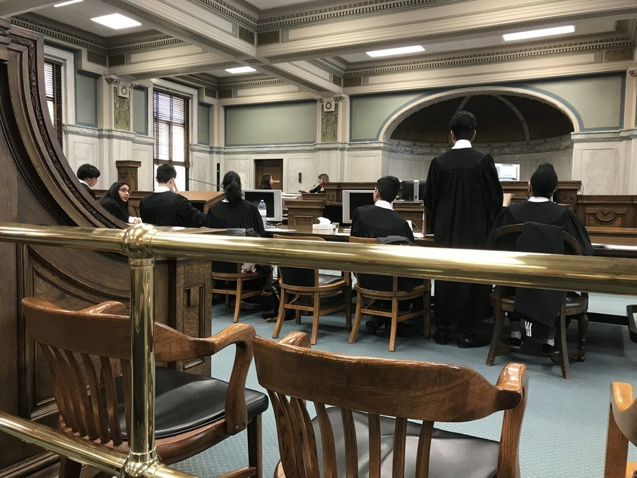 Trial Proceedings April 14, 2019