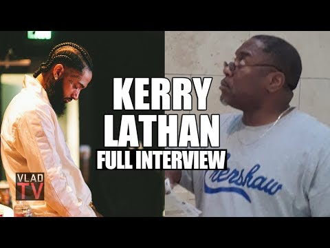 EXCLUSIVE : Kerry Lathan Speaks on Getting Shot Next to Nipsey Hussle, Police Violating Parole & Facing Life