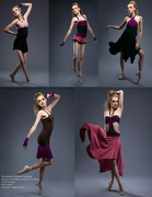 "Morgan-Purple-Pink ""Sweet Decpetions"" spring Collection"