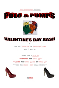 """POLO & PUMPS"" VALENTINE'S DAY BASH"