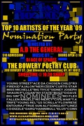 THE ELEGANT HOODNESS TOP TEN ARTISTS OF THE YEAR NOMINATION PARTY-NOV1