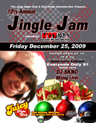 """10th Annual Jingle Jam """"Juicy Night Club"""""""