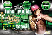 Tank A Million and Juice Squad Concert Bash