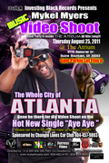 "THURS AUG 25TH MYKEL MYERS LIVE VIDEO SHOOT ""AYE AYE"" @THE ATRIUM!! OPEN TO THE PUBLIC!!  5pm to 9pm!!"