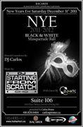 "BLACK & WHITE ""Masquerade"" New Year's Eve Ball"