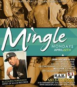 """April 22nd is """"Mingle Mondays"""" at Melba's with your host, Blizzard!"""