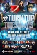 **2/18** #TurntUpTuesdays @BlueFlameLounge ALL-STAR BDAY BLOW-OUT FOR ATL PUBLICIST @TiaCulver @June_DaLinkENT & DTLR'S @_SMOAK1