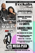 HOOKAHS & HEELS HOSTED BY HOT107.9'S EMPEROR SEARCY & MZ SHYNEKA @ATL'S NEW...